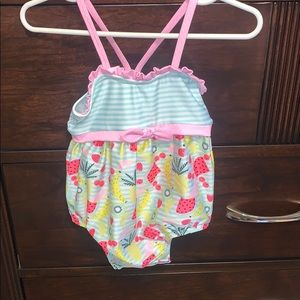 Cat and Jack baby girl swimsuit NWT
